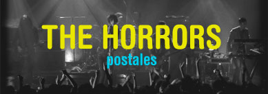 The Horrors postales