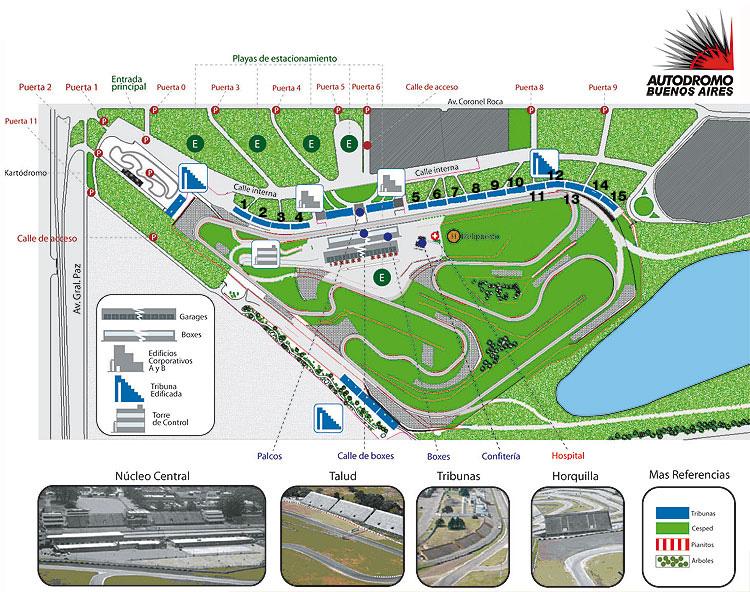 Circuito Galvez : Autodromo indie hoy
