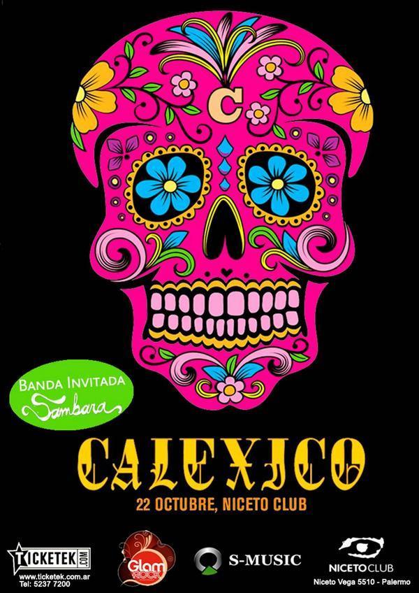 Calexico flyer