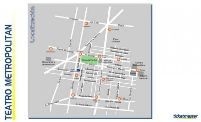 Teatro metrop litan como llegar entradas mapas t lefono for Como llegar al ministerio del interior