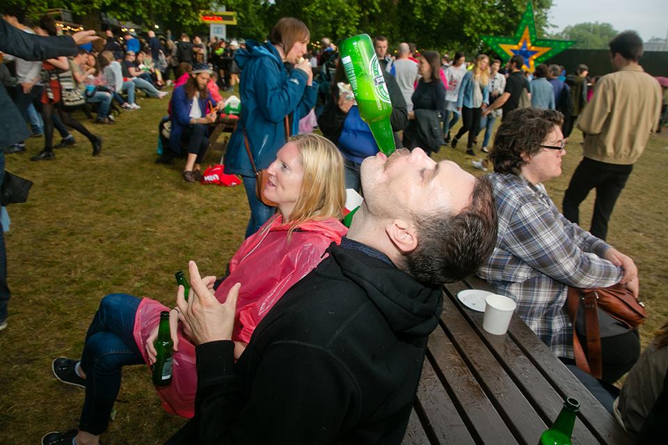 British Summer Time Hyde Park London 2015, Blur, The Horrors, Hanni el Khatib