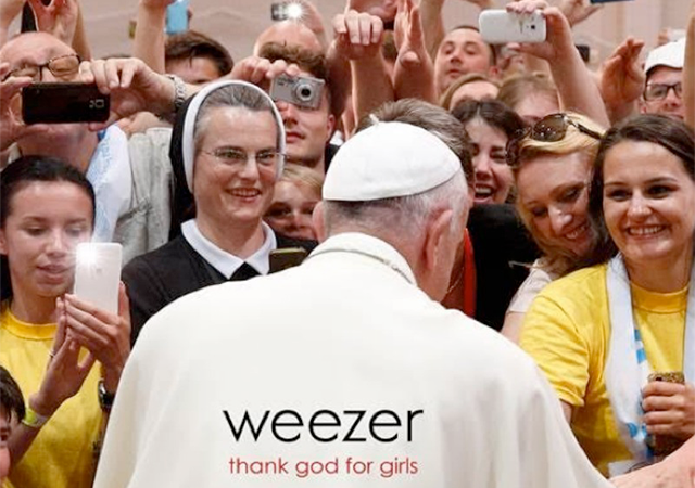weezer - thank god for girls