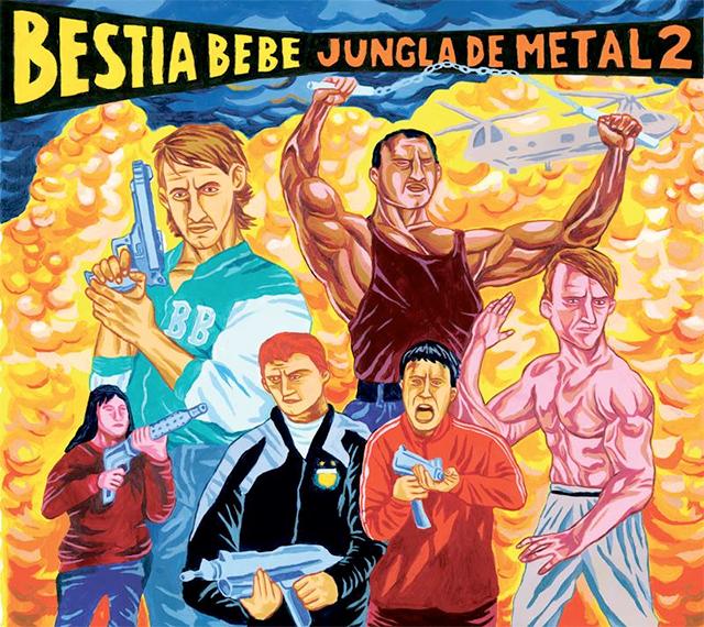 bestia bebe - jungla de metal 2