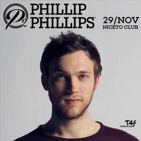 Phillip Phillips en Argentina