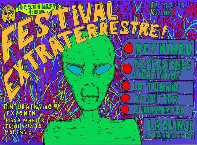 festival extraterrestre