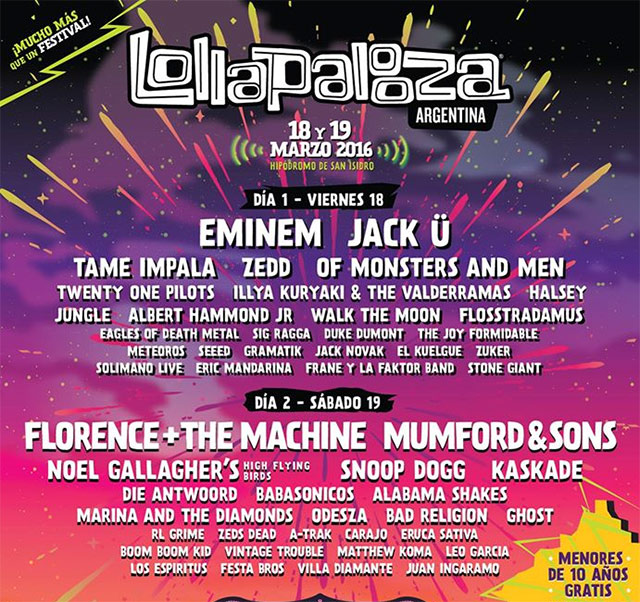 lolla-line-up
