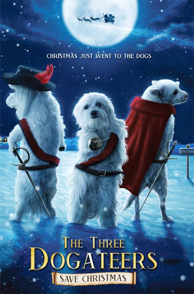 The Three Dogateers Save Christmas