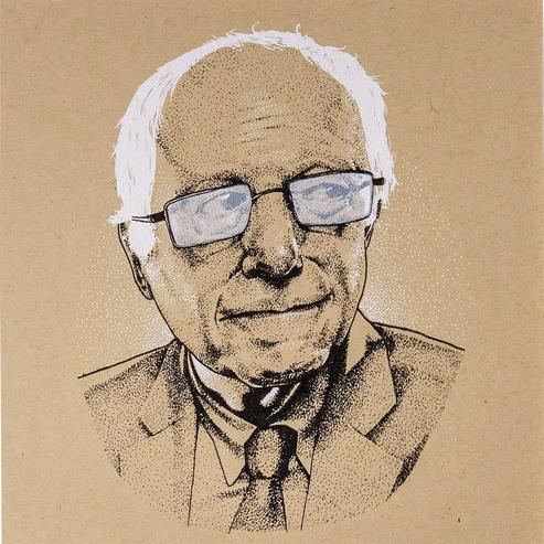 Thurston Moore - Bernie Sanders