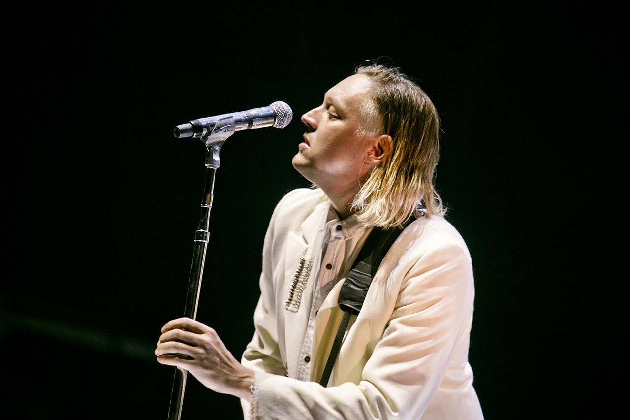 Arcade Fire at NOS Alive, Lisboa, Portugal - 9 JULY 2016