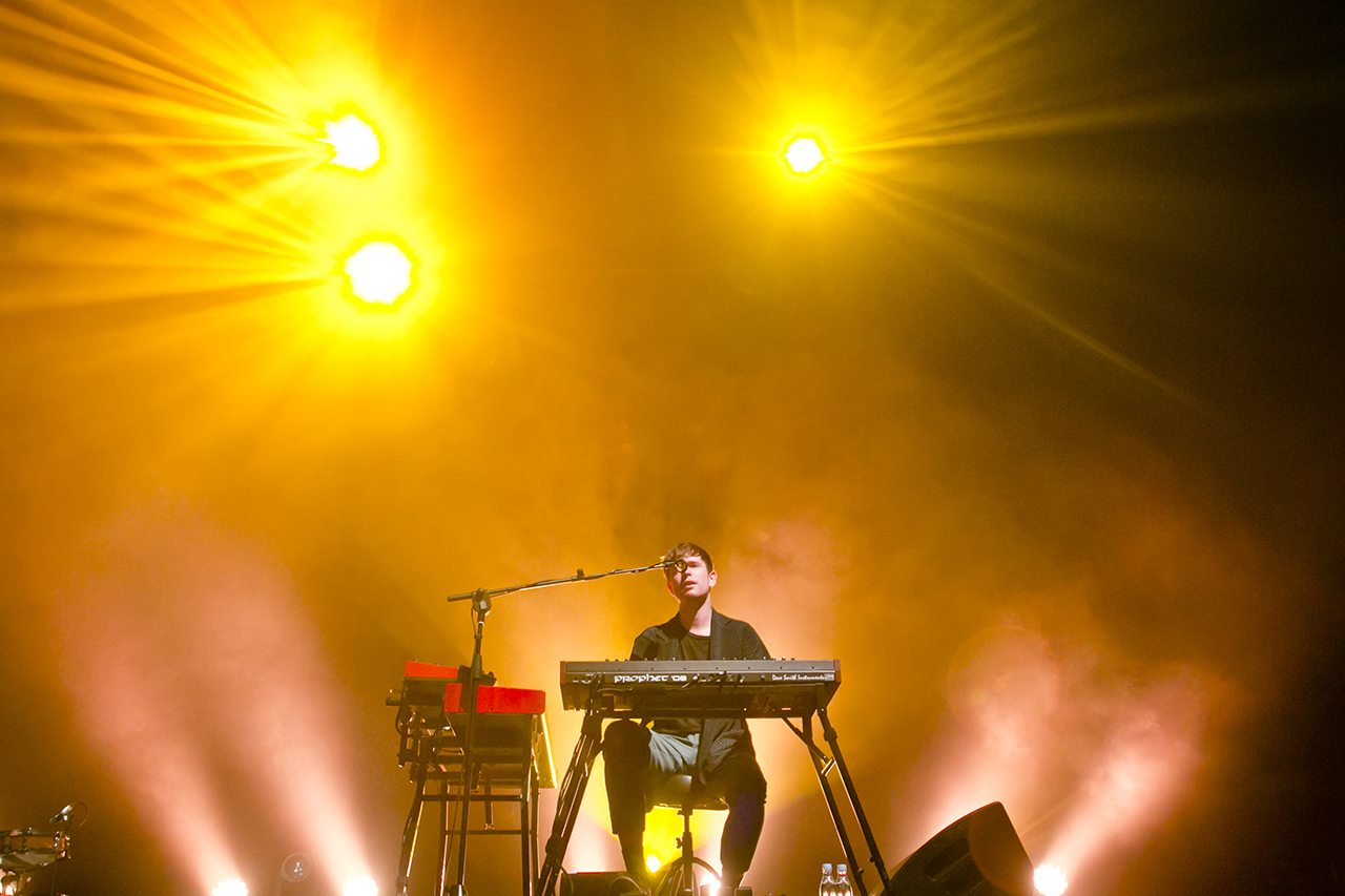 James Blake at Roskilde Festival, Roskilde, Denmark - 1 JULY 2016