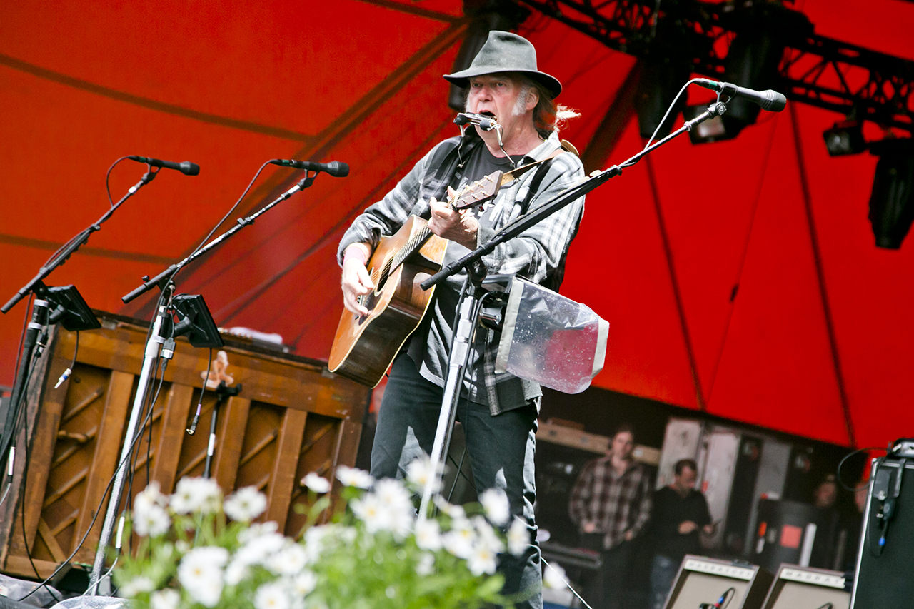 Neil Young at Roskilde Festival, Roskilde, Denmark - 1 JULY 2016