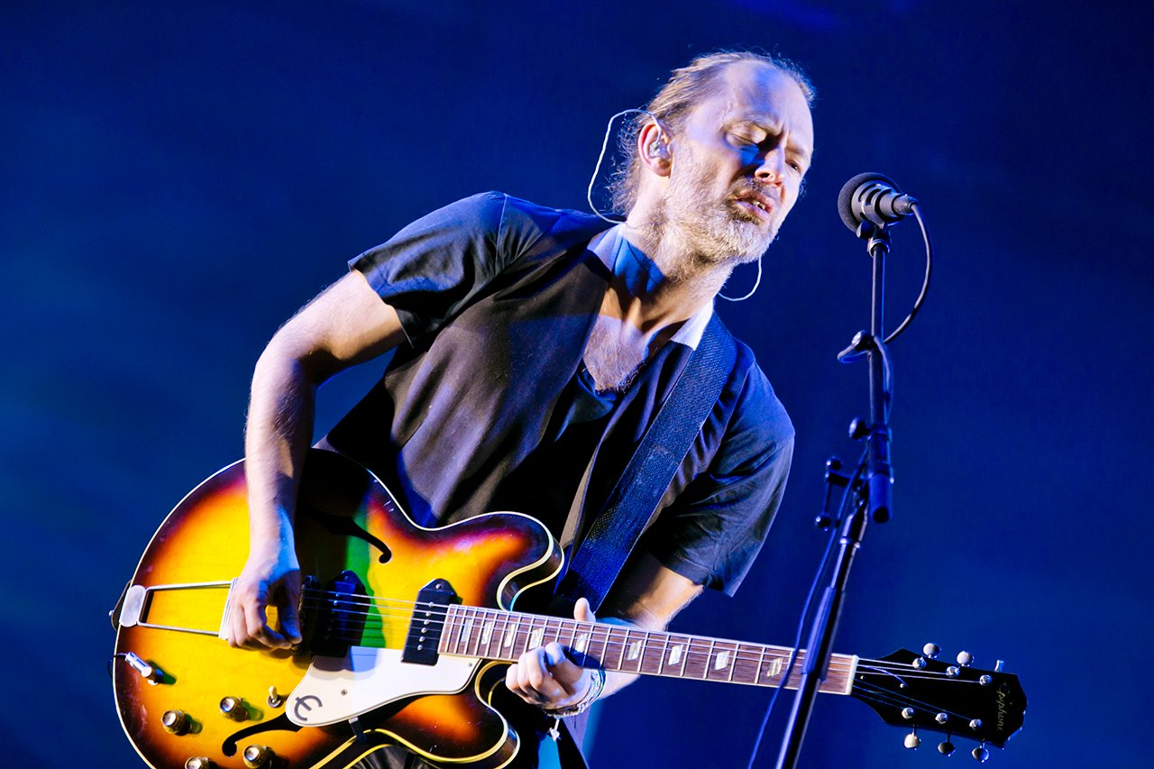 Radiohead at NOS Alive, Lisboa, Portugal - 8 JULY 2016