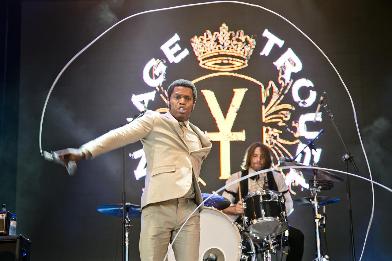 Vintage Trouble at NOS Alive, Lisboa, Portugal - 7 JULY 2016