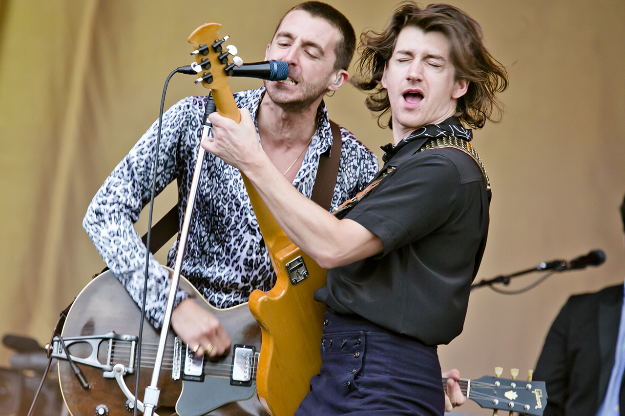 The Last Shadow Puppets at Roskilde Festival, Roskilde, Denmark - 2 JULY 2016