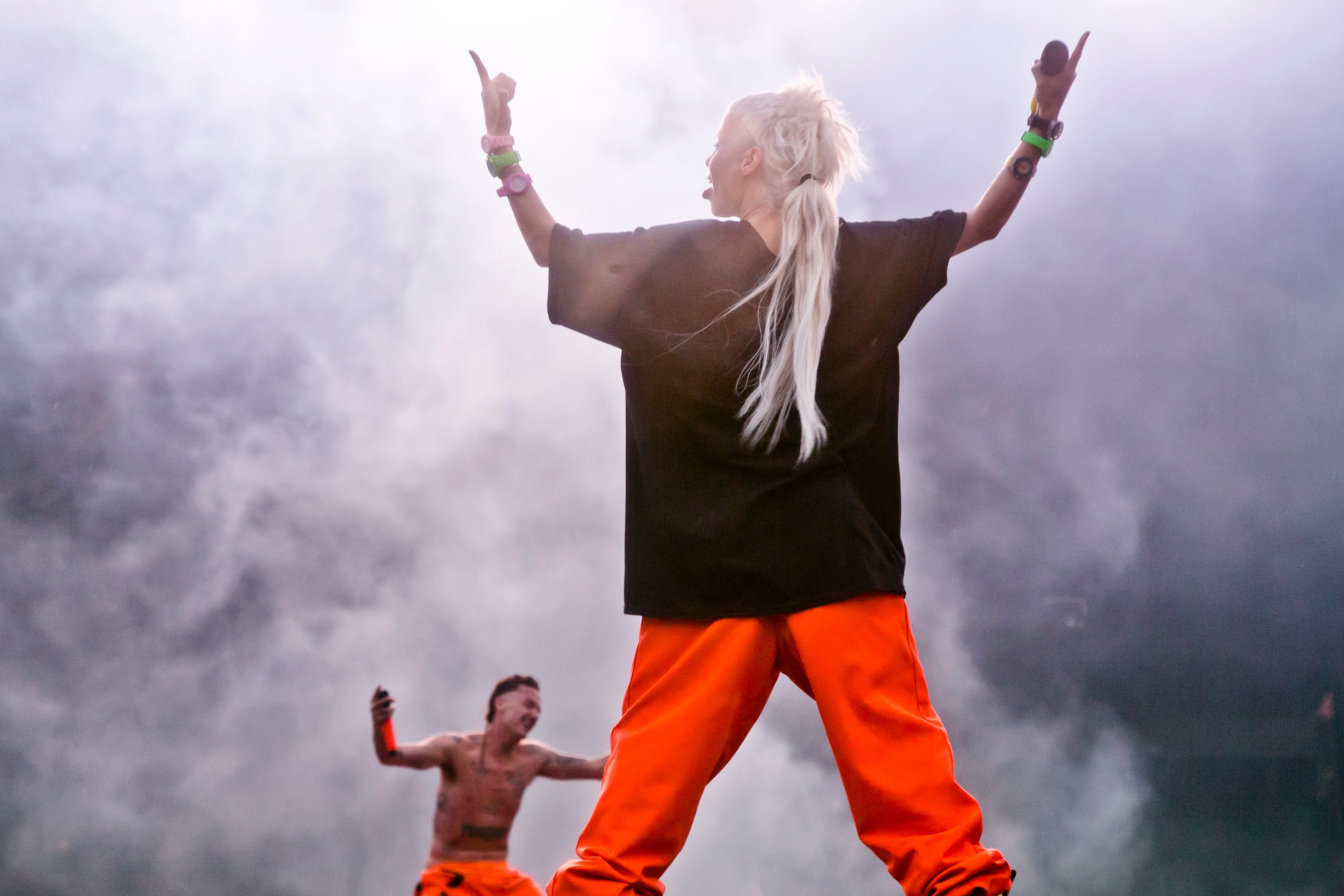 Die Antwoord at Sziget Festival, Budapest, Hungary - 10 August 2016
