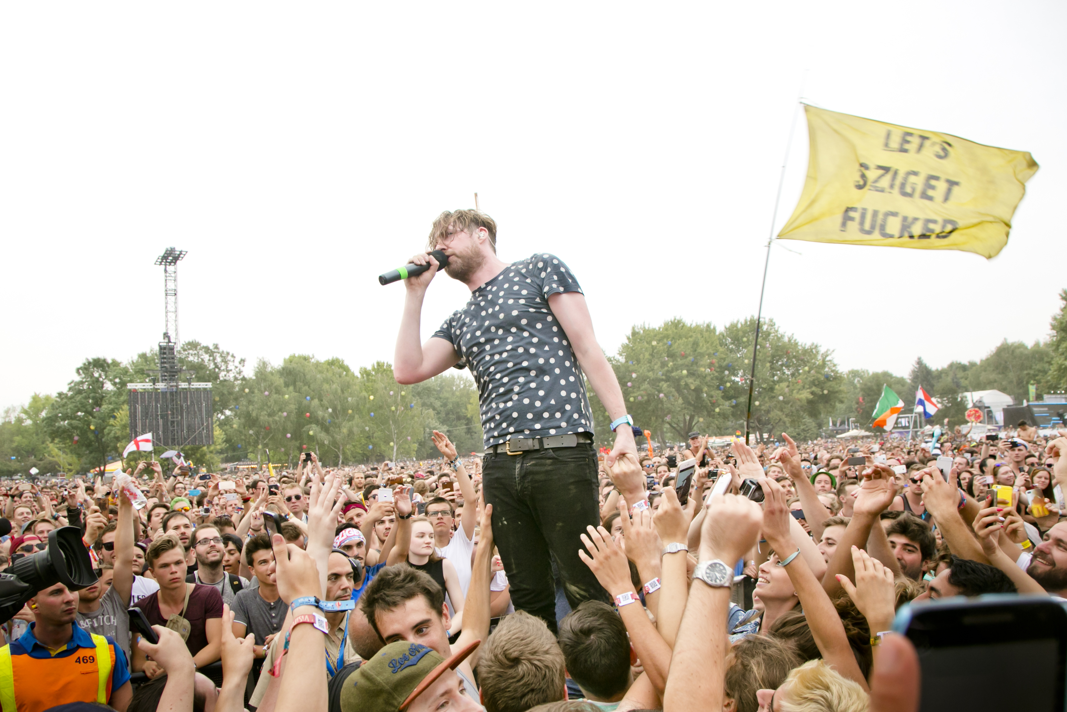 Kaiser Chiefs at Sziget Festival, Budapest, Hungary - 15 August 2016