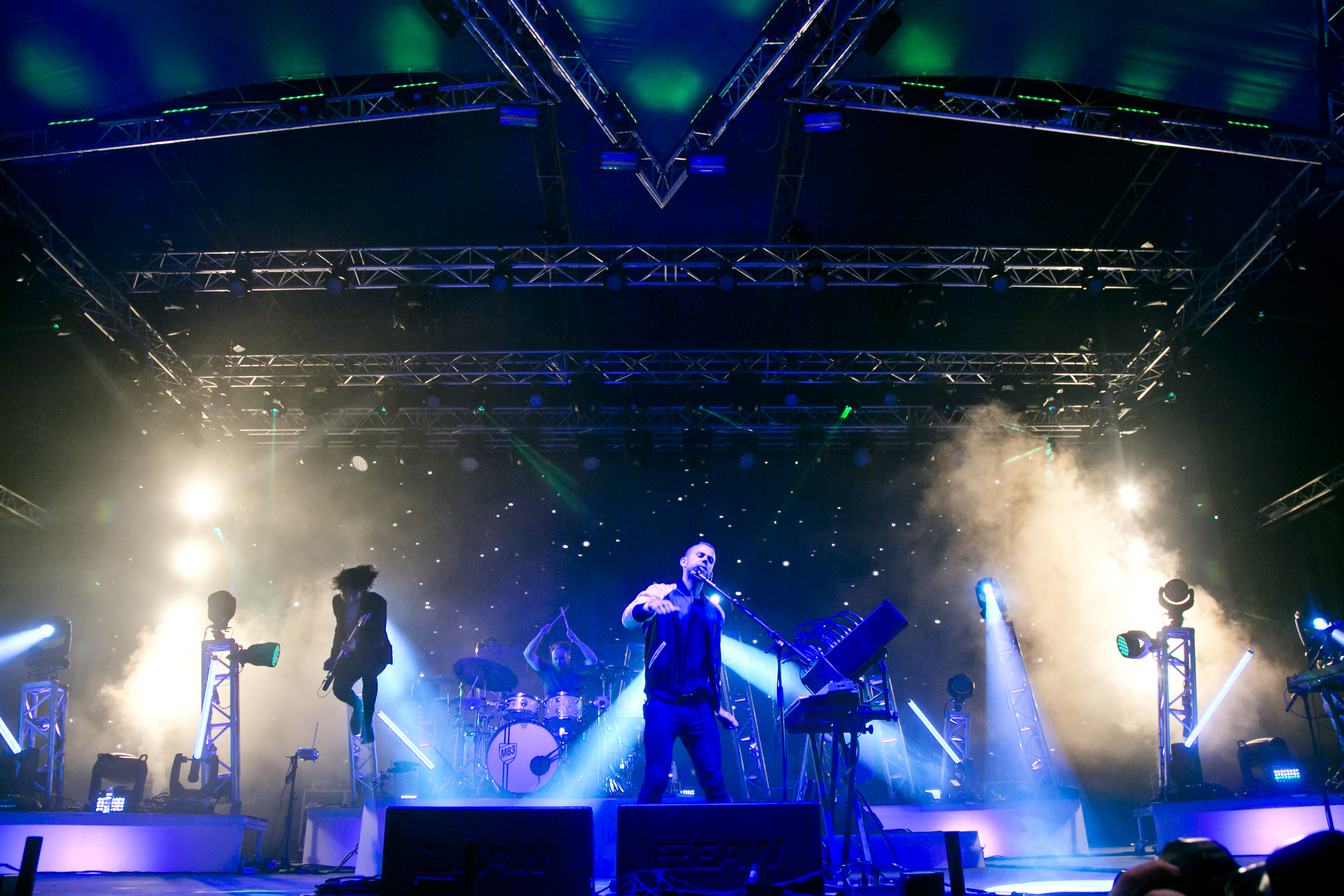 M83 at Sziget Festival, Budapest, Hungary - 15 August 2016