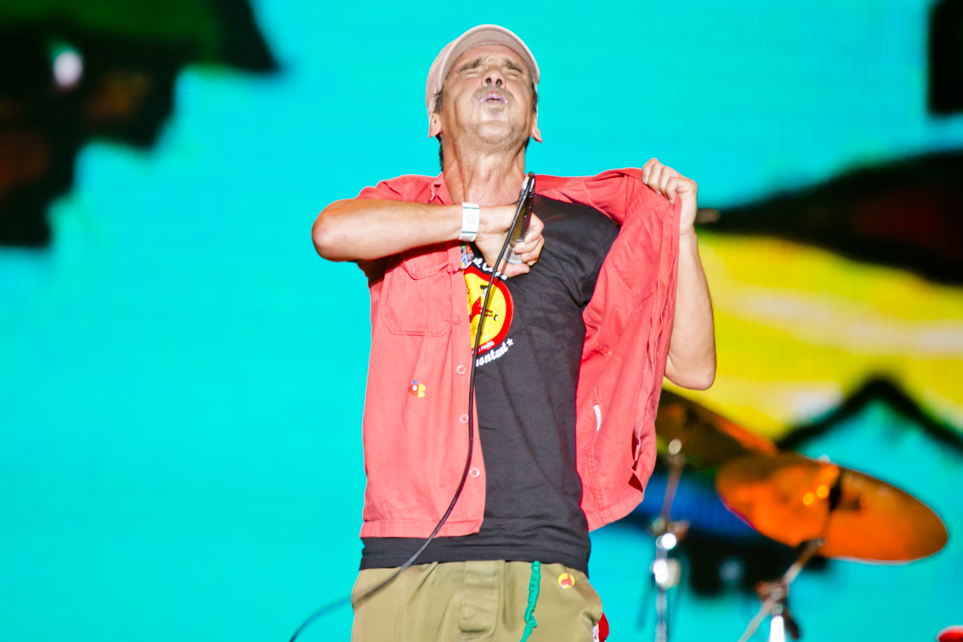 Manu Chao at Sziget Festival, Budapest, Hungary - 12 August 2016