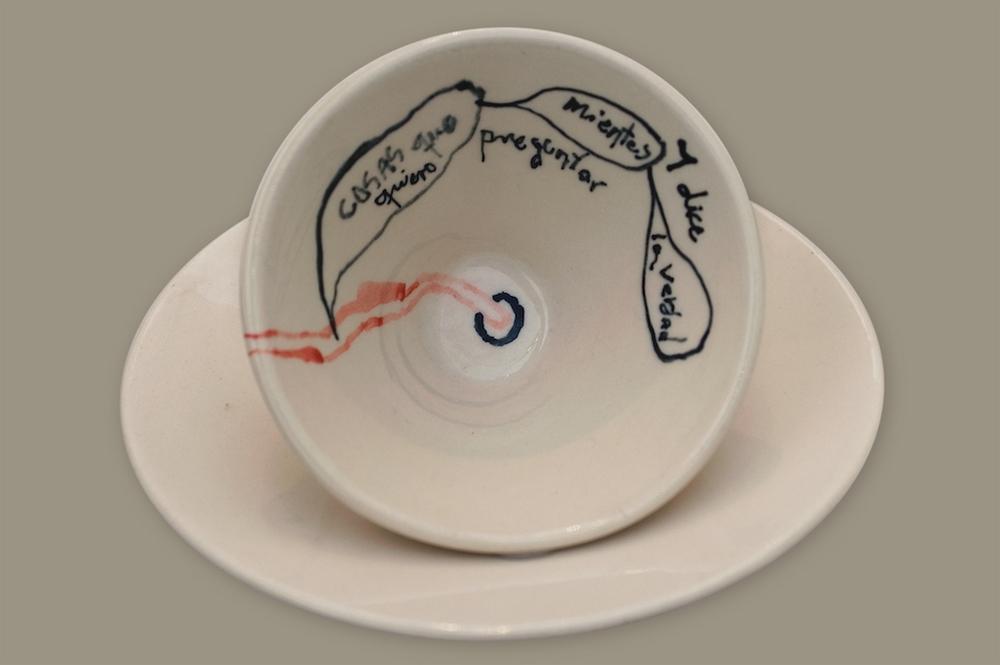 Miento, 2002, ceramica, medidas variables
