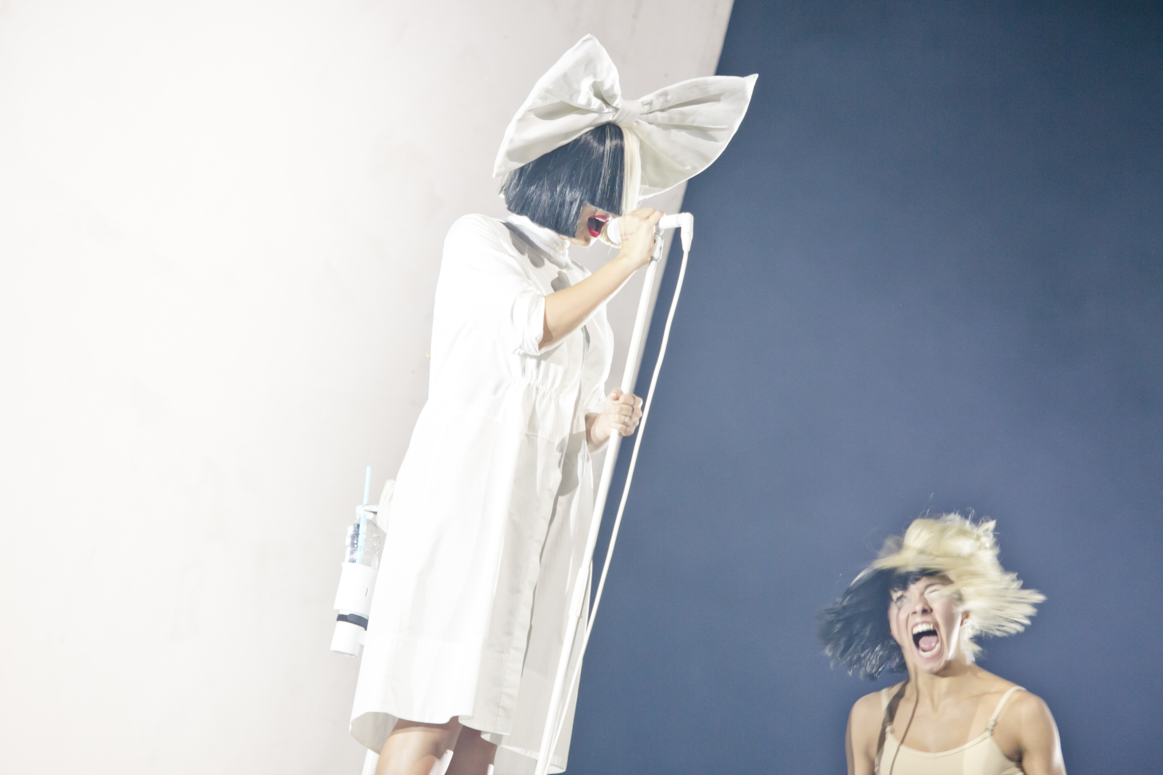 SIA at Sziget Festival, Budapest, Hungary - 15 August 2016