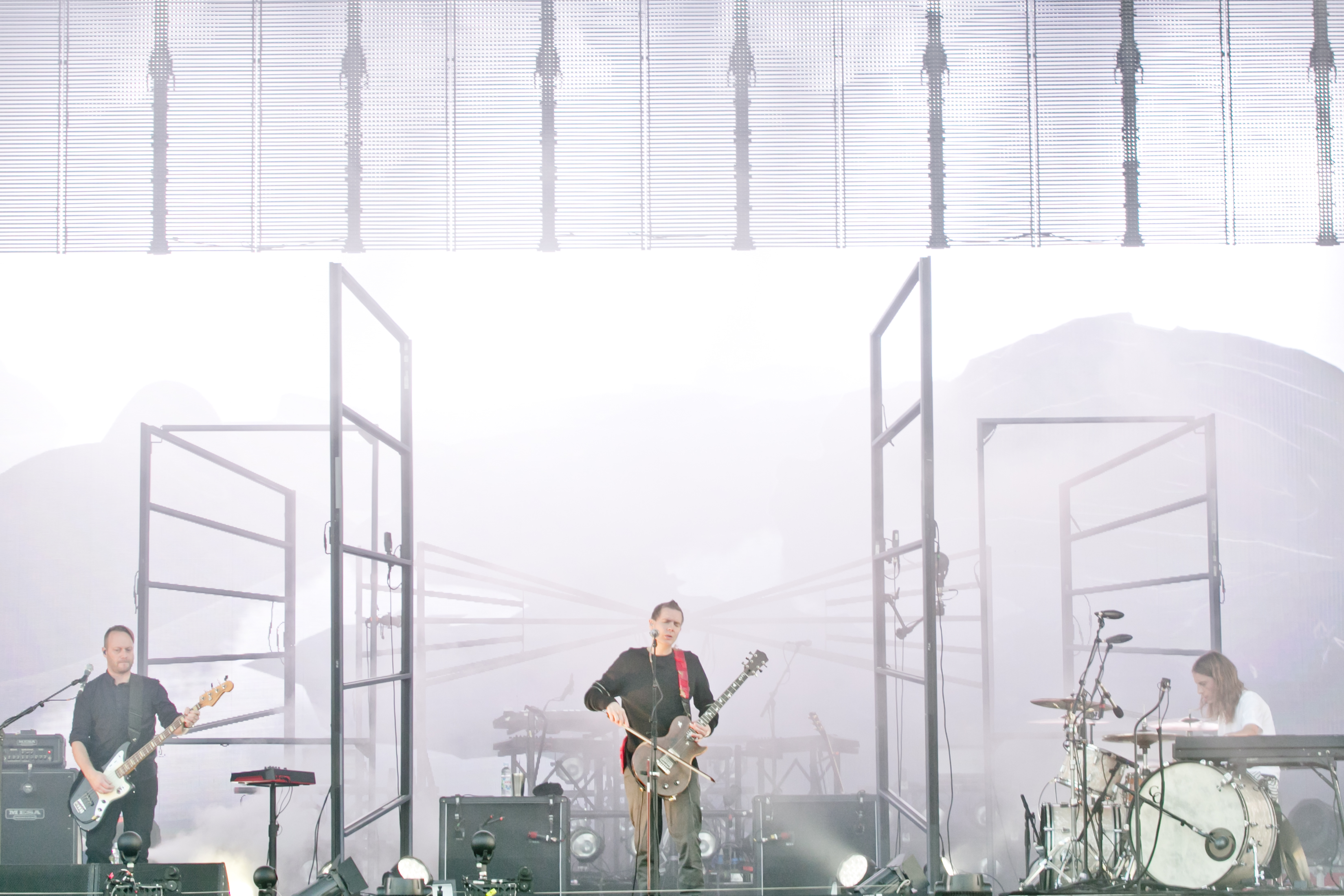 Sigur Ros at Sziget Festival, Budapest, Hungary - 13 August 2016