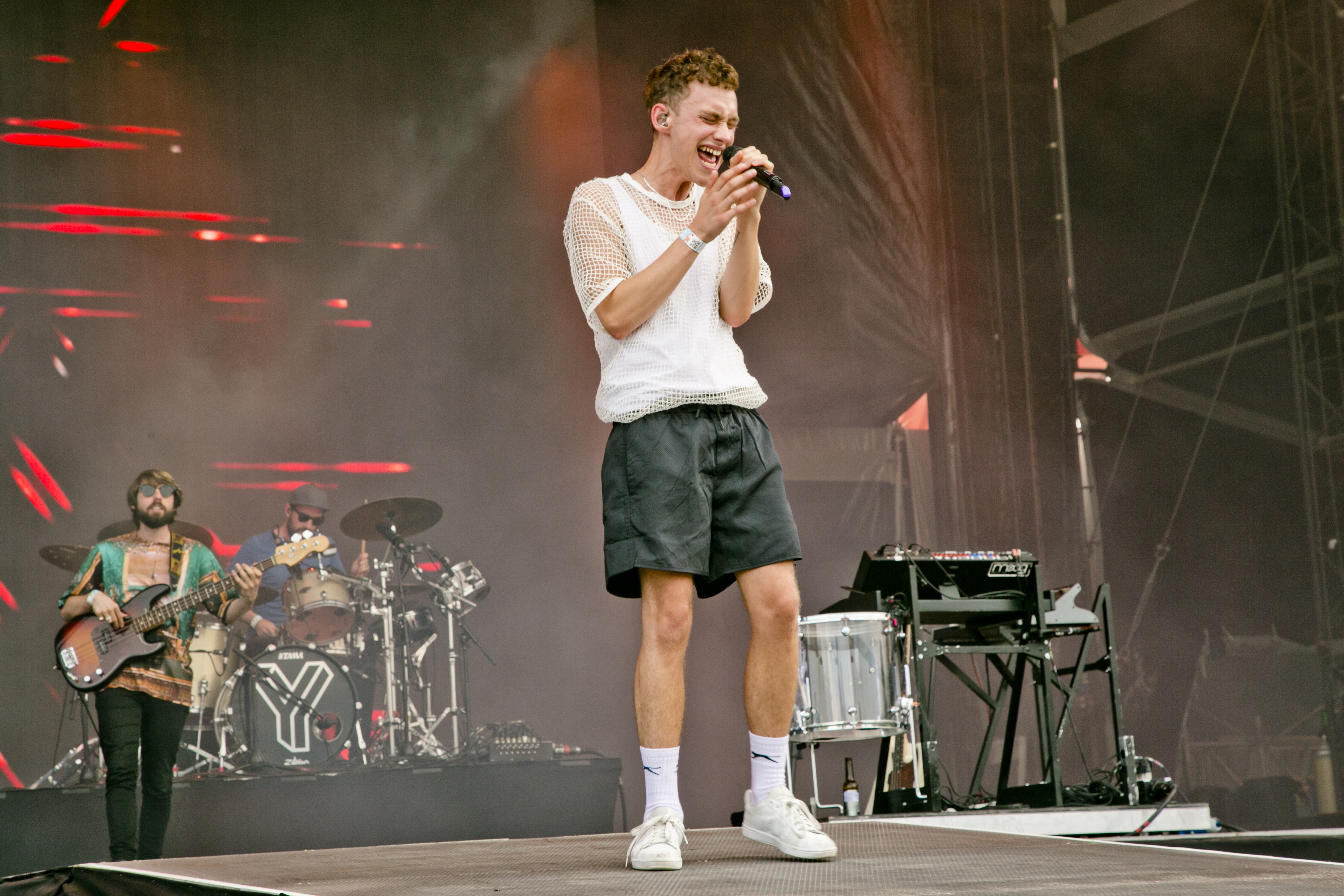 Years & Years at Sziget Festival, Budapest, Hungary - 15 August 2016
