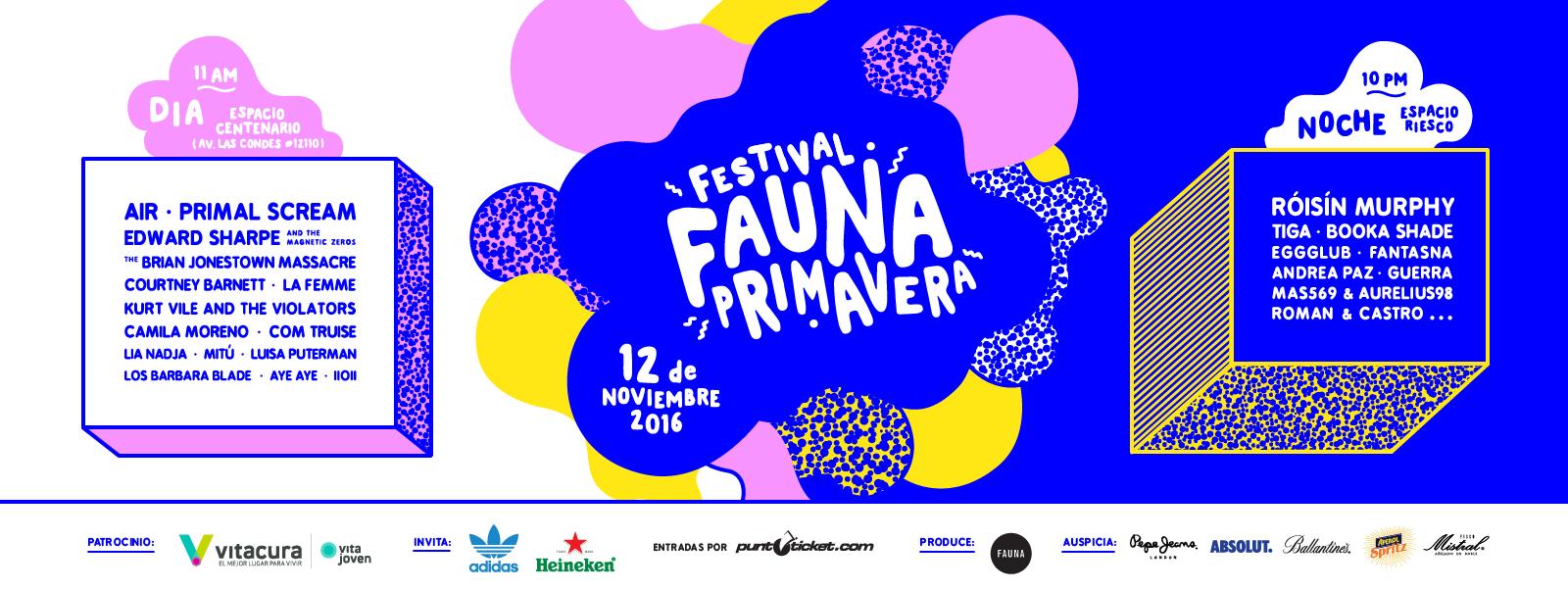 festival fauna primavera lineup