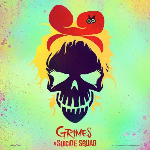 grimes - suicide squad