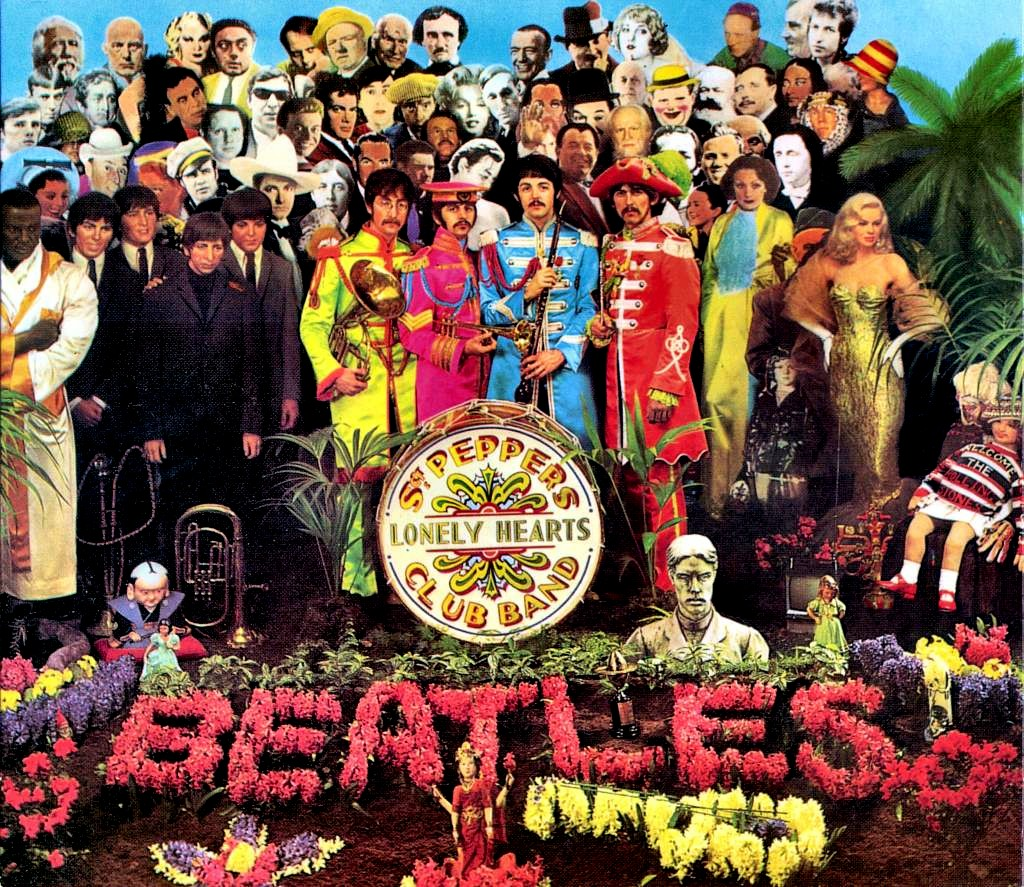 Resultado de imagen para sgt pepper's lonely hearts club band