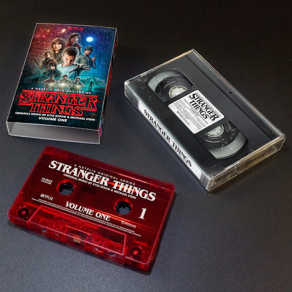 OST de Stranger Things en audio cassette