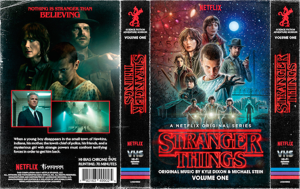 El soundtrack de Stranger Things estará disponible en cassette