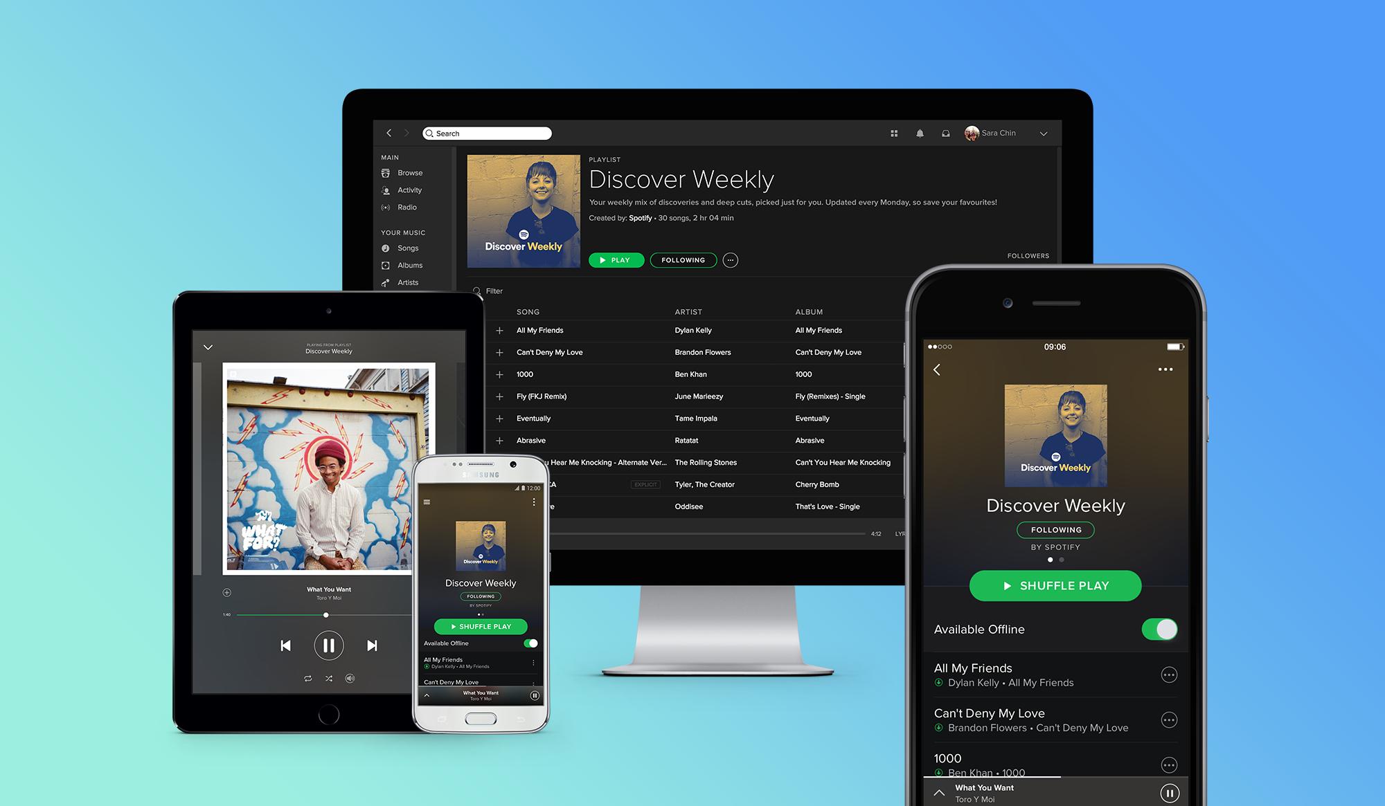 Ahora Spotify agregará canciones patrocinadas
