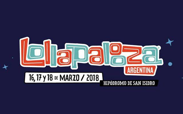 Lineup oficial de Lollapalooza Argentina 2018