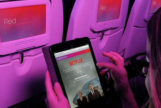 Ahora podrás disfrutar Netflix en tus vuelos de Aeroméxico