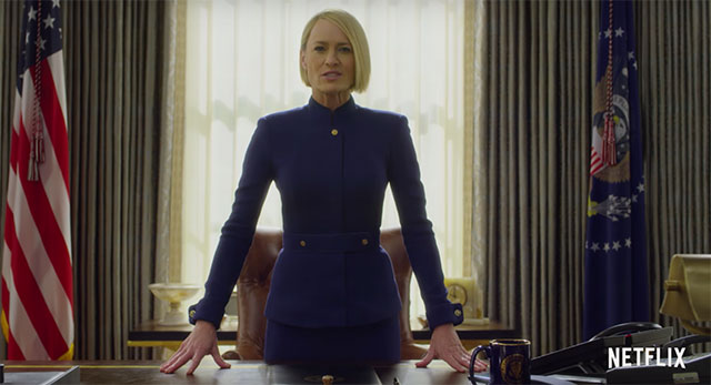 House of Cards estrena avance sin Kevin Spacey — Netflix