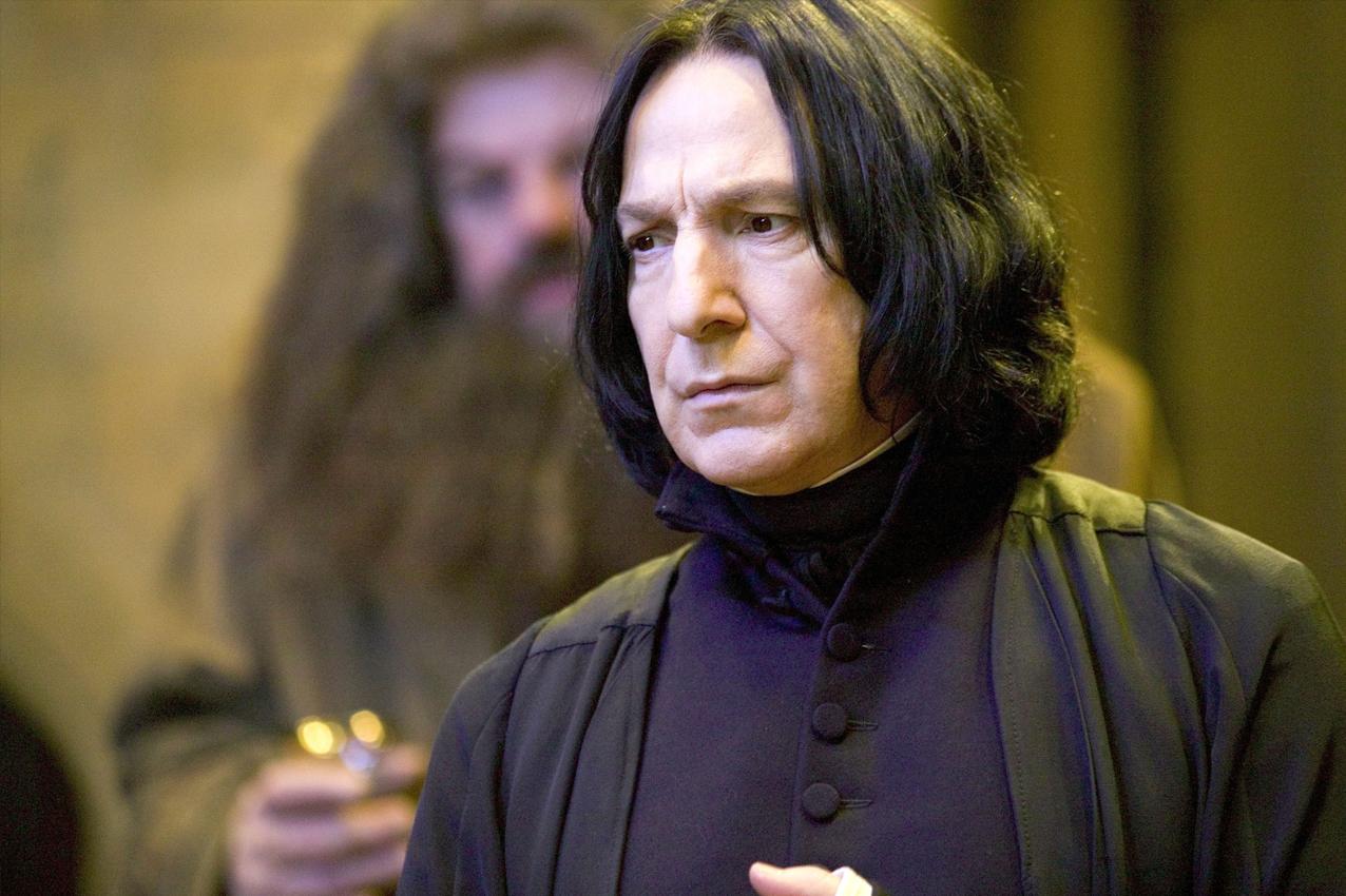 Se revelan las frustraciones de Snape en las cartas de Alan Rickman