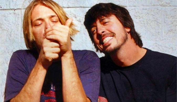 Dave Grohl recuerda con mucho dolor la partida de Kurt Cobain
