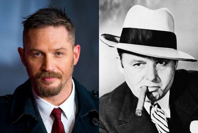 Irreconocible: Así luce Tom Hardy como Al Capone para nueva película