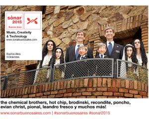 Sónar Buenos Aires anuncia sus primeros nombres: The Chemical Brothers, Hot Chip y más